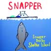 Grace Gallant's design for the Snapper Derby logo competition