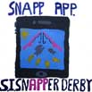 Julian & Madeline Mitchell's design for the Snapper Derby logo competition. 2nd place winner